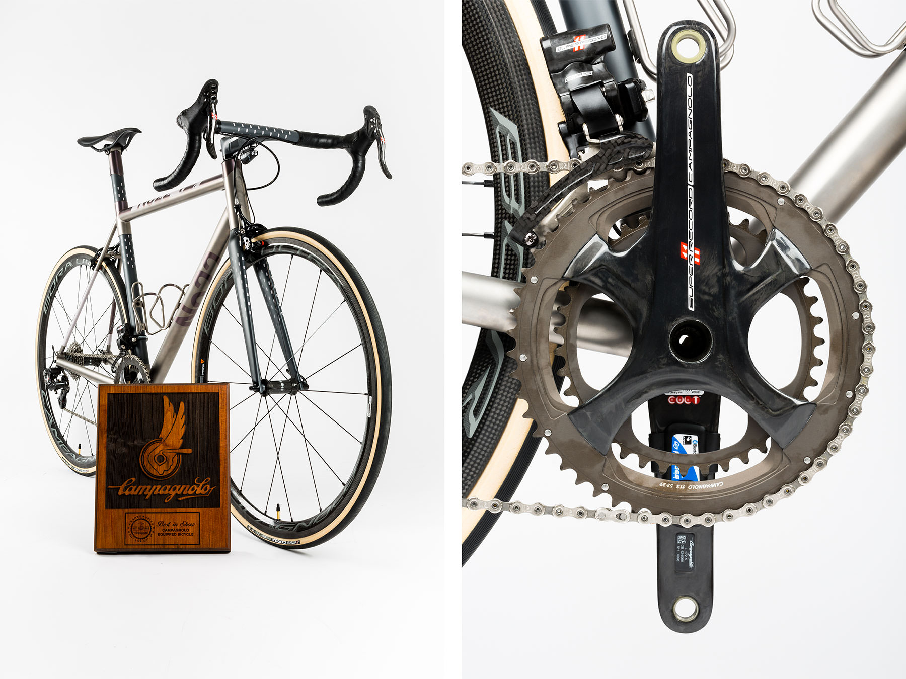The No. 22 Bicycle Company NAHBS Campagnolo Best in Show Award